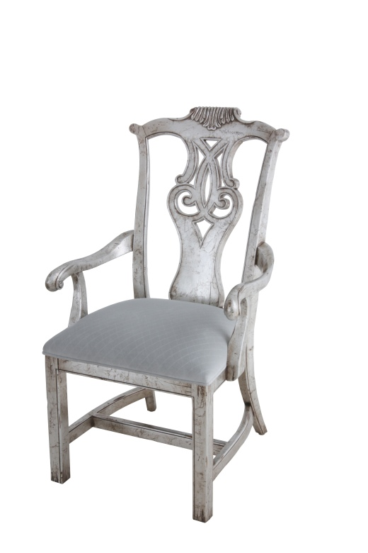 Chair in Silver Leafing