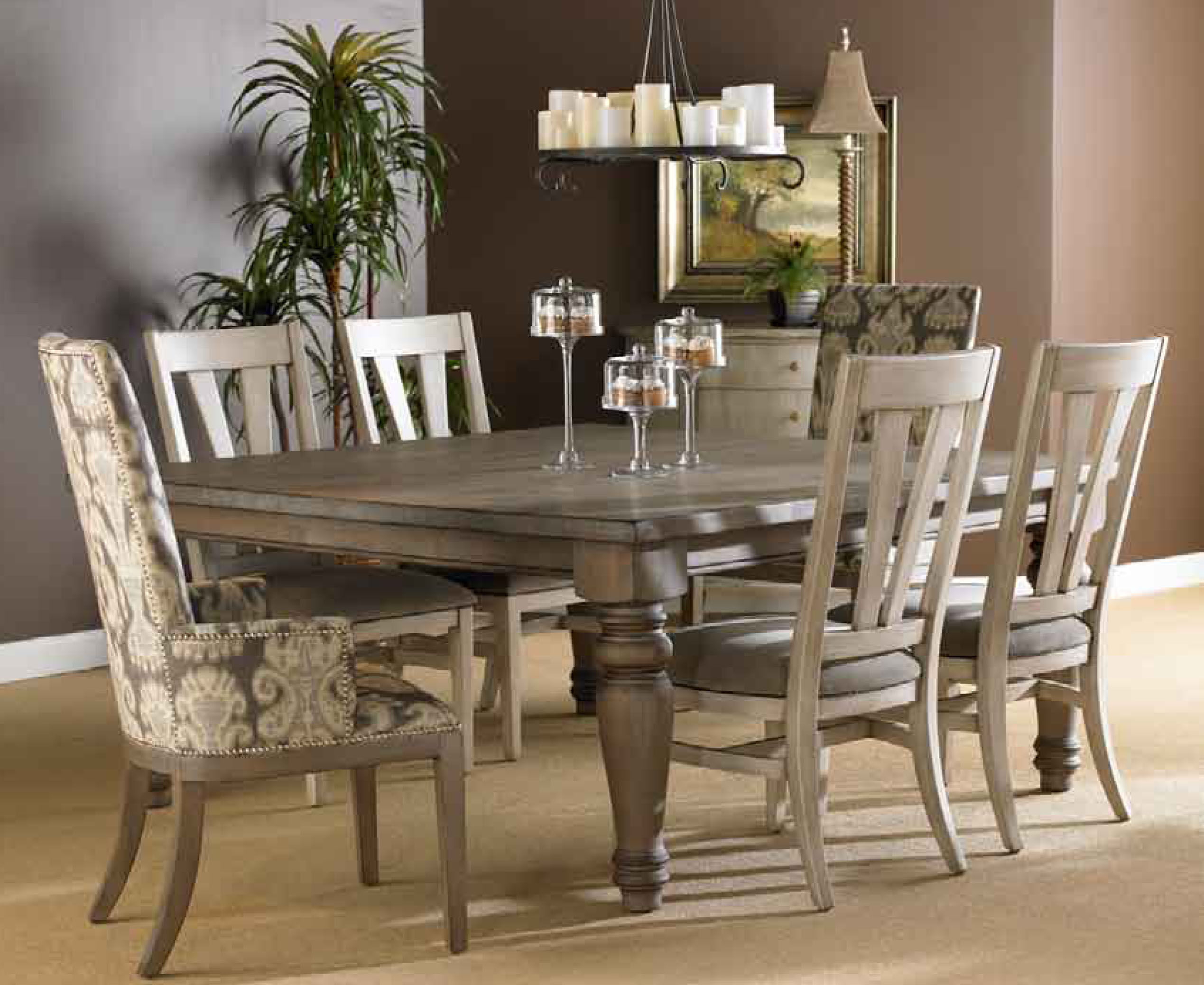 Grey Dining Room Table Sets