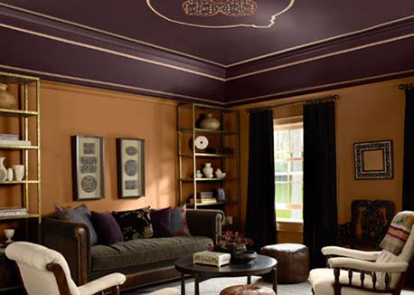 Home color trends 2011 day 1 purple predicted - Wandfarbe purpur ...