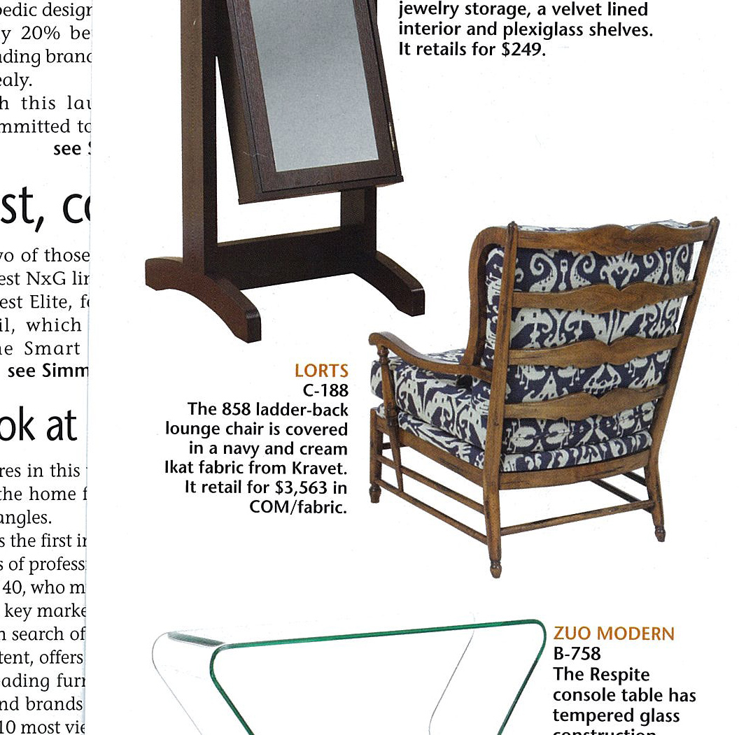 Furniture today product spotlights for Furniture today