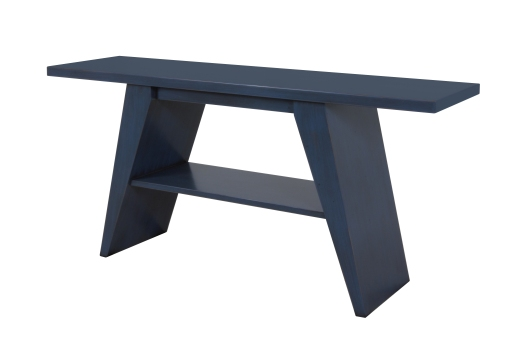 312 Console Table in Blue Denim