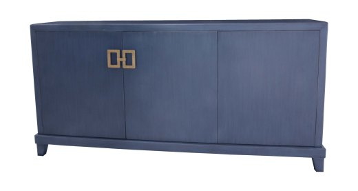 272 Buffet in blue denim.