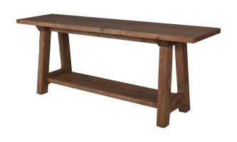 "2117 Console Table in ""Natural"" finish"