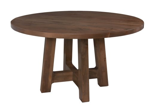 "8611 Table Base and 8354 Tabletop both in ""Natural"""