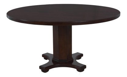 8619 Table Base with a 8460 Tabletop both in Old World