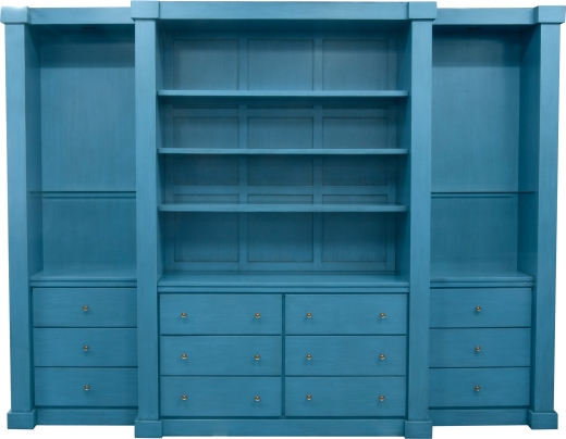 Straight Line Molding Wall Unit in a Sherwin-Williams® color