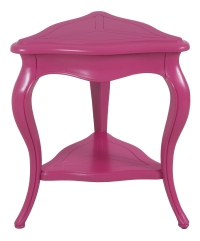 "3212 End Table in ""Pink Flambé"""