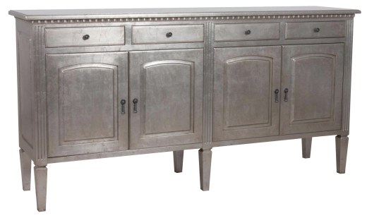 "9704 Buffet in ""Silver Leaf"""