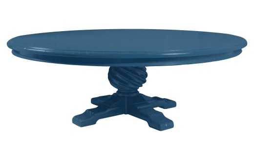 2109 Dining Tabletop and 210203 Table Base both in a Sherwin-Williams® color