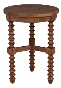 "3883 Chairside Table in ""Villager"""