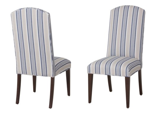 "7901 Side Chairs in ""Old World"" finish and COM"