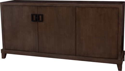 "272 Buffet in ""Mink"" with custom finished hardware in ""Onyx"""