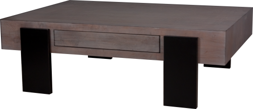 """3121 Cocktail Table in """"Greystone"""" and """"Onyx"""""""