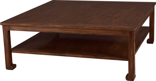 """3750 Chow Leg Cocktail Table in """"Antquity"""""""