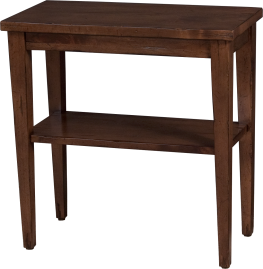 "3681 Side Table in ""Chestnut"""
