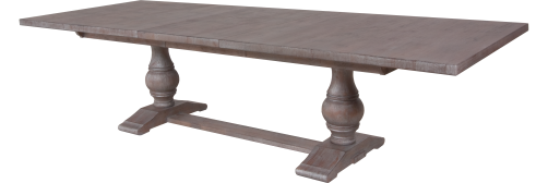 7160 Tabletop and 7162B Table Base in Slate
