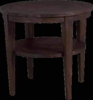 3675 Lamp Table in Bark