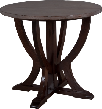 3317 Lamp Table in Greystone and Old World