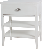 4281 Nightstand in Dove White