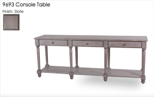 Lorts 9693 Console Table in Slate