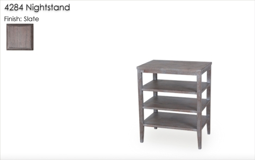 4284 Nightstand finished in Slate
