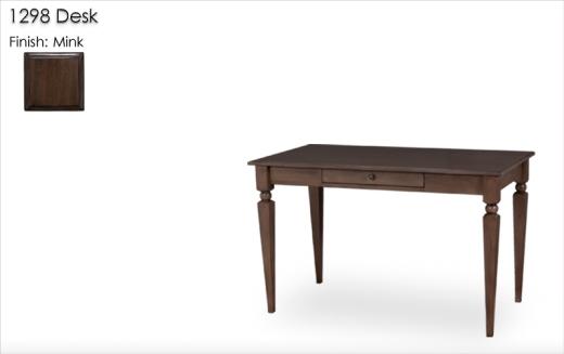 1298 Desk finished in Mink
