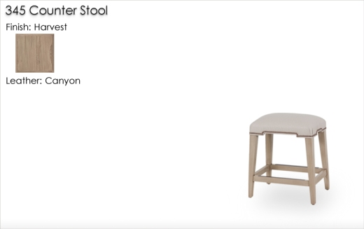 345 Counter Stool finished in Harvest