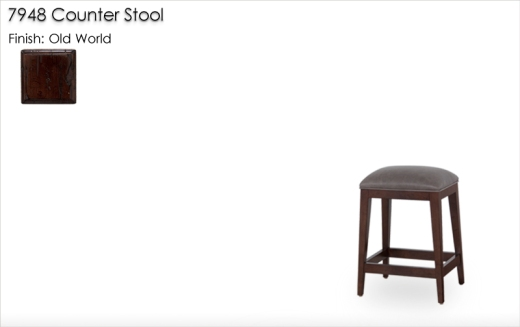Lorts 7948 Counter Stool finished in Old World