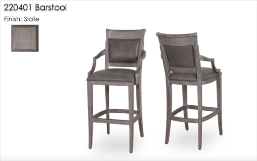 220401 Barstools finished in Slate