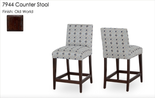 7944 Counter Stools finished in Old World