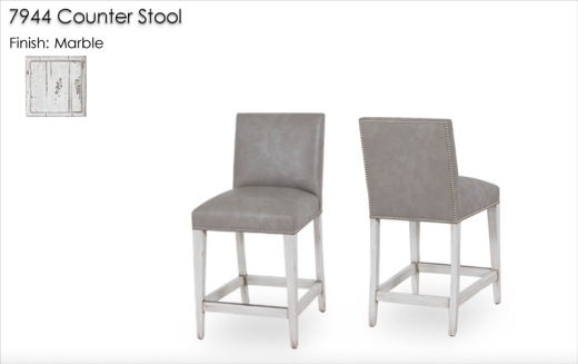 7944 Counter Stools finished in Marble