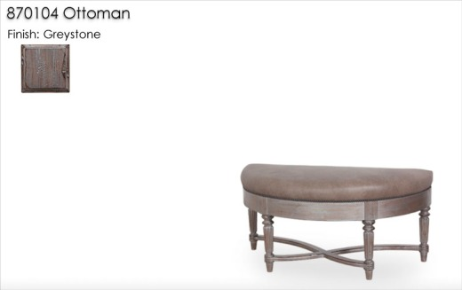 870104 Ottoman finished in Greystone