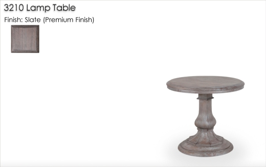 3210 Lamp Table finished in Slate