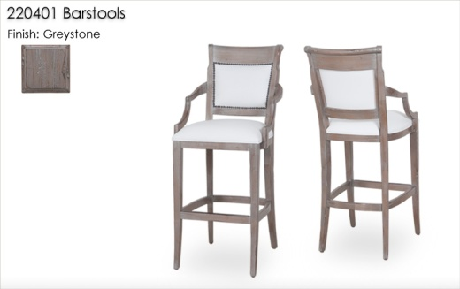 220401 Barstools finished in Greystone