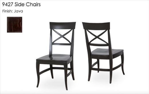 9427 Side Chairs finished in Java