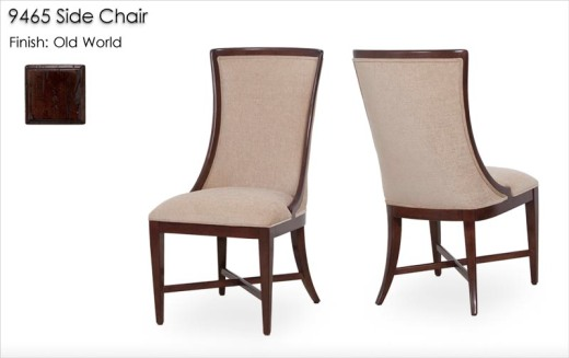 9465 Side Chair finished in Old World