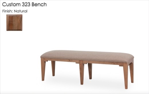 Custom 323 Bench finished in Natural