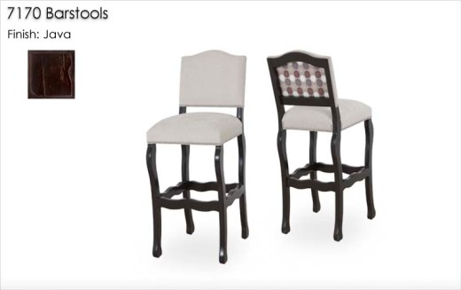 7170 Barstools finished in Java