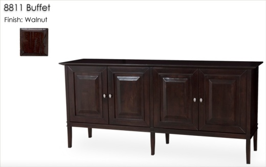 8811 Buffet finished in Walnut