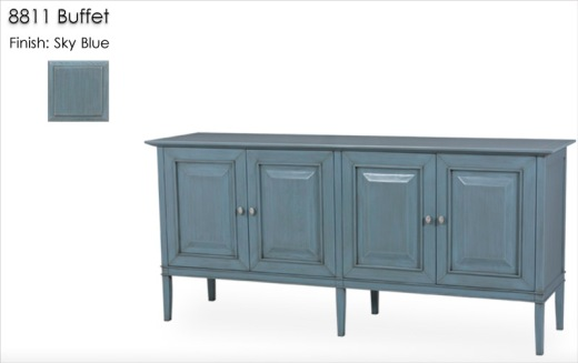 8811 Buffet finished in Sky Blue