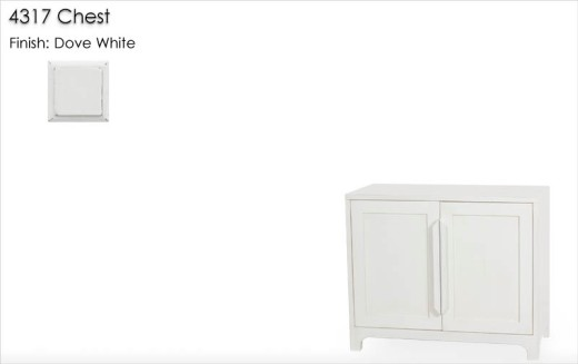 Lorts 4317 Chest finished in Dove White