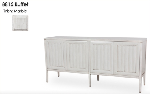 8815 Buffet finished in Marble