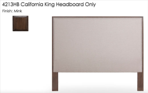 4213HB California King Headboard Only finished in Mink