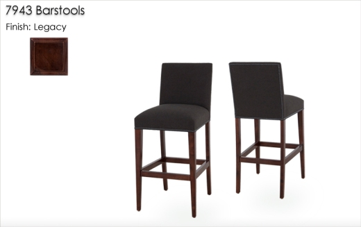 Lorts 7943 Barstools finished in Legacy
