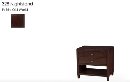 328 Nightstand finished in Old World