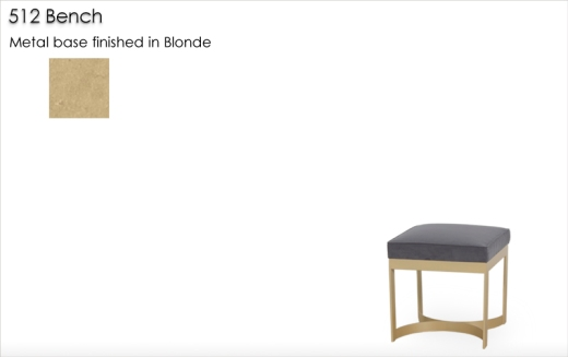 512 Bench finished in Blonde