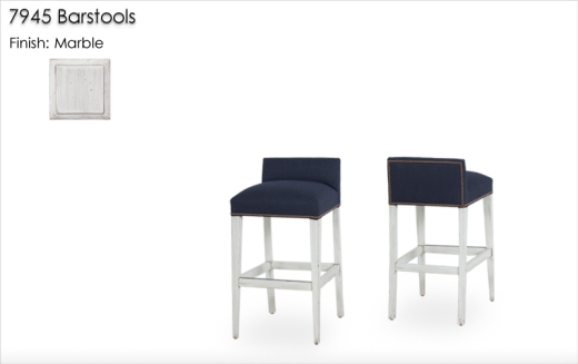 Lorts 7945 Barstools finished in Marble