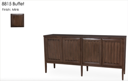 Lorts 8815 Buffet finished in Mink