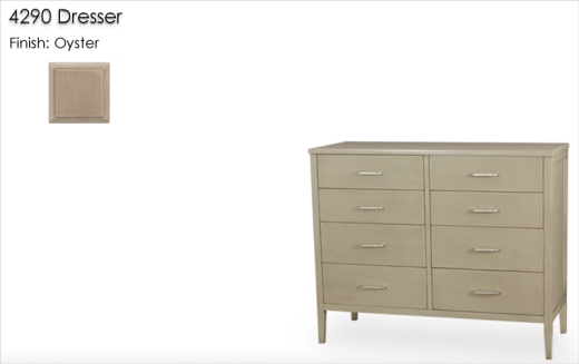 Lorts 4290 Dresser finished in Oyster