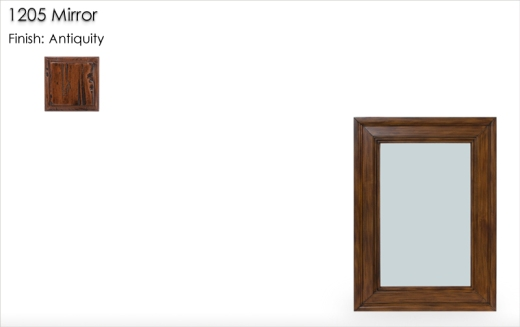 Lorts 1205 Mirror finished in Antiquity